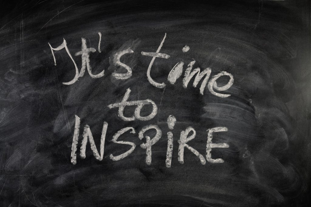 It´'s time to inspire